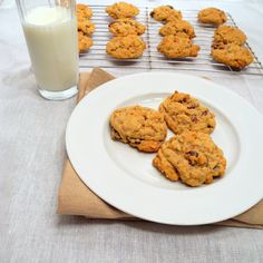 Cherry Pecan Oatmeal Cookies - From Calculu∫ to Cupcake∫