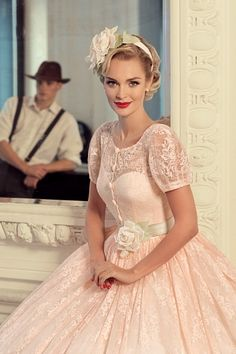 Pink Wedding Dress Love Forever