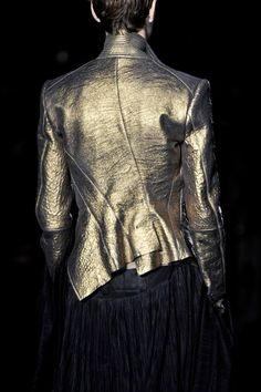 stay tuned for more GoldSuit!Rumpel, now with an intentionally fucked up jacket from Haider Ackermann Spring 2014