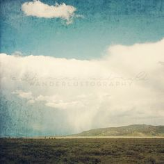Summer Rains  Photographic print  Wyoming  by wanderlustography,