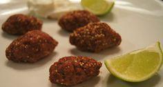 Mini quibe de quinoa assado: carne moída, quinoa em grãos, cebola | #quibe #carne #quinoa