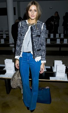 Olivia Palermo Looked Fab At Peter Som's Fashion Show AW12