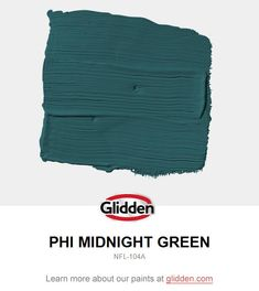 Trendy Kitchen Paint Colors With Dark Wood Thoughts - Home Accents living room Glidden Paint Colors, Teal Paint, Green Paint Colors, Kitchen Paint Colors, Paint Colors For Home, Room Colors, Ppg Paint, House Colors, Green House Paint