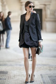 olivia palermo during paris fashion week