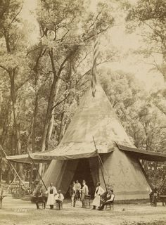 Anonymous. 'North American wigwam at the World Exhibition' 1873