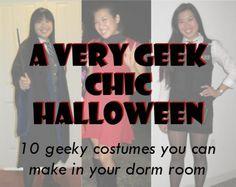 A Very Geek Chic Halloween: 10 Geeky DIY Costume Ideas.