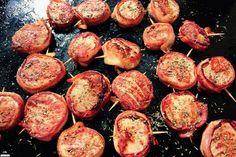 Filet mignon de porc bardé de lard à la Plancha @Blog du SudOuest.fr