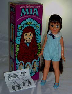 I had the Mia doll...