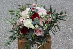 Blooms of Barker Unique Flowers, Funeral, Red And Pink, Special Day, Bouquets, Wedding Flowers, Floral Wreath, Bloom, Wreaths