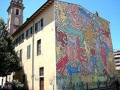 Keith Haring Pisa Italy