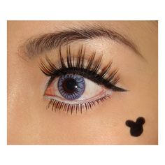 Halloween Makeup Ideas Minnie Mouse Makeup Look found on Polyvore