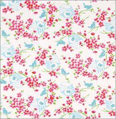 Curtains...Tanya Whelan Sugar Hill Birdy-White