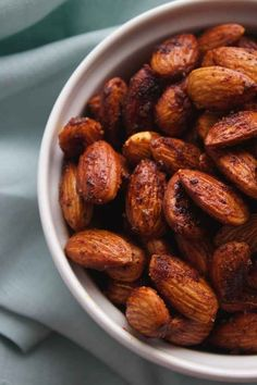 Buffalo spiced almonds. 25 Make-Ahead Snacks That Are Perfect For Traveling