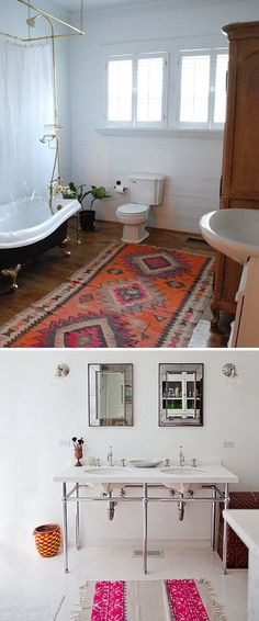 Bathroom Rug Refresh   Trend Center by Rugs Direct