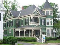 Queen Ann Victorian house