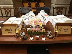 結婚式の受付の飾り参考画像!ウェルカムスペースは結婚式の第一印象に。 | BELCY Totoro, Wedding Welcome, Bride Groom, Gift Wrapping, Gifts, Weddings, Space, Wedding, Gift Wrapping Paper