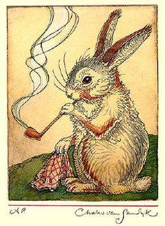 Gentleman Hare by Charles van Sandwyk