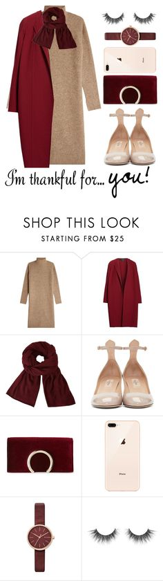 """""""TFS: im thankful for you"""" by queenshaima ❤ liked on Polyvore featuring By Malene Birger, Lafayette 148 New York, John Lewis, Valentino, Jessica McClintock, Skagen and imthankfulfor"""