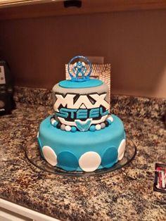 Max Steel b-day cake