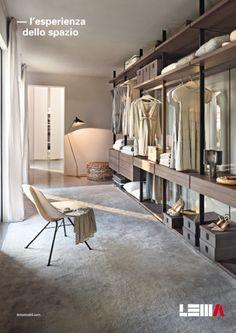 walk-in wardrobe idea, by Stefan Asparuhov Wardrobe Closet, Walk In Closet, Interior Design Boards, Interior Ideas, Closet Remodel, Closet Storage, Elle Decor, Dressing Room, New Homes
