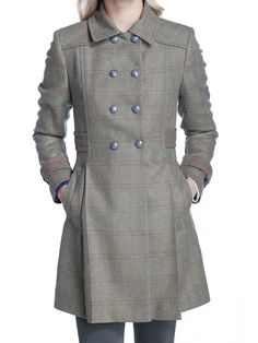 Hawthorn Women's Tweed Coat