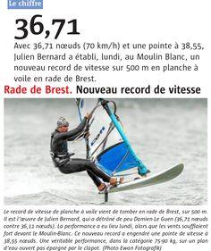 Le record de Julien Bernard en rade de #Brest fait parler Le Télégramme http://www.basevitessebrest.com/actualites-voile.html