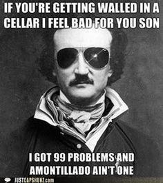 English nerd joke @Erin Hughes @Makayela Banks