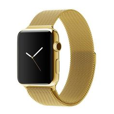 Apple watch band, Decouart Milanese loop Stainless Steel Gold Bracelet for 42mm 38mm - Decouart - 1