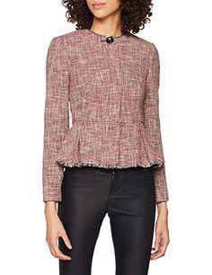 Peplum, Ruffle Blouse, Lk Bennett, Coats For Women, Long Sleeve, Sleeves, Red, Jackets, Clothes