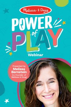 On Wednesday, June 17 at 11AM (ET), we will host The Power of Play Webinar presented by Melissa Bernstein of Melissa & Doug. Learn about the impact of play on brain development, critically important social/emotional skills, and a child's overall well-being. This webinar is FREE, but seats are limited. Reserve your spot, register early! Self Concept, Priorities List, Emotional Development, Melissa & Doug, Social Emotional Learning, You Are Invited, Healthy Relationships, Curriculum, Wednesday