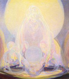 Agnes Pelton. The Fountains. 1926.