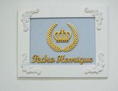 Coleção Realeza Trio Provençal Azul | Uhuuu! Mamãe Tá em Casa! | Elo7