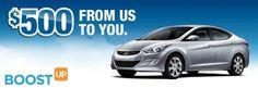 #Hyundai Partners with BoostUP For 2015 Sonata Savings