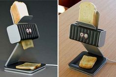 A toaster that prints your toast | 5 Toasters Straight From the Jetsons