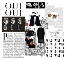 """Black"" by claudia-farace on Polyvore"