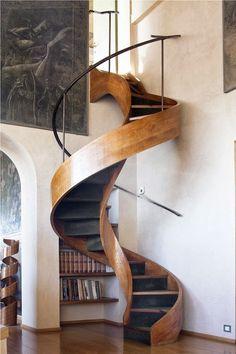 Amazing Organic Staircase