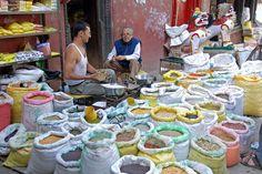 Durbar Square market, Kathmandu, Nepal