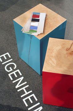 by AnneLiWest|Berlin #Eigenheimdesign, Hocker Elmar aus Erle