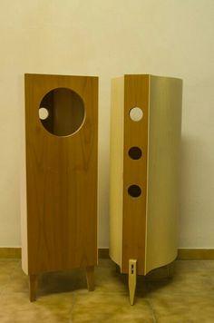 Audio, Diy Speakers, Record Storage, Loudspeaker, Ikea, Objects, Woodworking, Inspiration, Mini