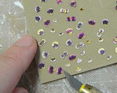My Dollhouse Days: Making Pansy flower