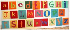 DIY Alphabet Game