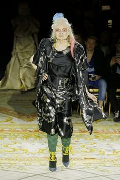 23c624e4a06 ndreas Kronthaler for Vivienne Westwood - Autumn Winter 2017/18: a big  tribute to