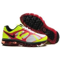 429889 099 Nike Air Max 2012 Yellow Red D12010