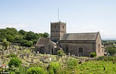 St Andrews Church in Clevedon on the North Somerset coast was another filming location dur. North Somerset, Weston Super Mare, Broadchurch, Filming Locations, England, St Andrews, House Styles, Summer Wedding