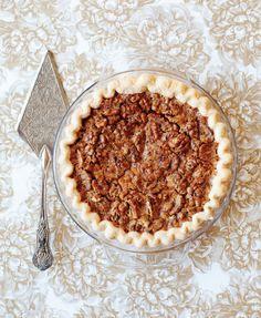 Butterscotch Walnut Pie - ELLEDecor.com