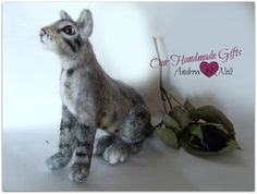miniature cats for doll houses