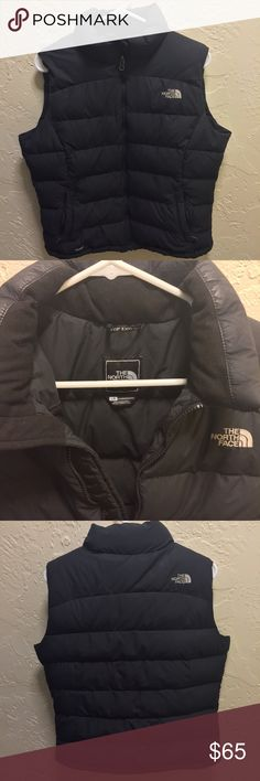North Face Nuptse 2 Down Vest - Large Women's size LARGE! - GREAT condition - Zippers work perfectly - Retail $149 - No trades - Feel free to bundle and make (reasonable) offers! The North Face Jackets & Coats Vests