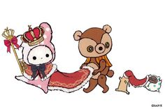 Sentimental Circus, Cartoon Town, Sanrio Characters, Fictional Characters, Chibi Food, Circus Party, Cute Chibi, Hello Kitty, Snoopy
