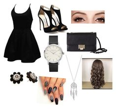 """""""Untitled #56"""" by shiyfashionista on Polyvore featuring WithChic, Jimmy Choo, Kate Spade and Lucky Brand"""