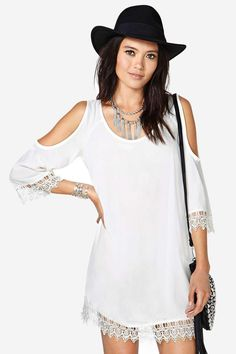 Live the dream and look adorable doing it.  This is the boho dress that matches everything, works...